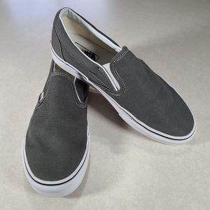 Vans Classic Slip-On Charcoal Sneakers